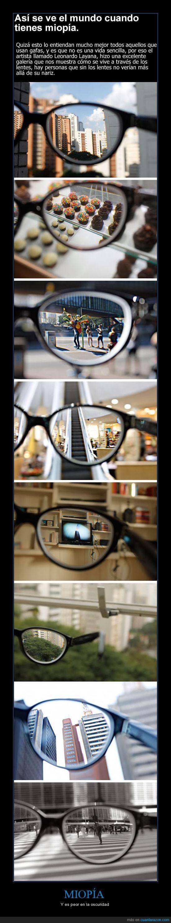 borroso,ciego,gafas,lentes,miopía,zapatos de otro