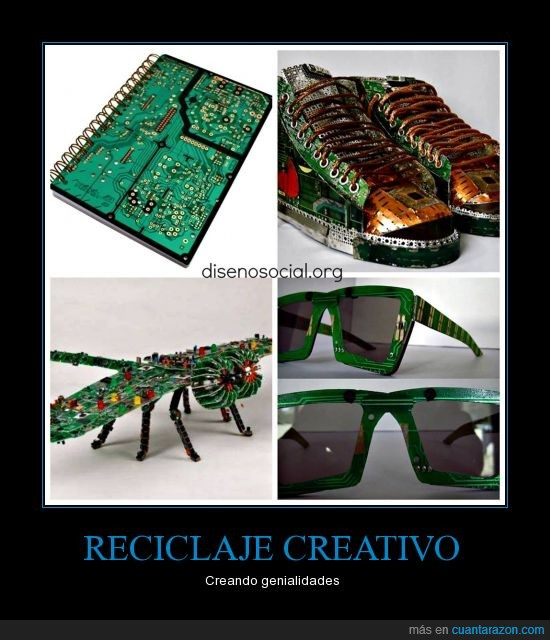 cosas viejas,creatividad,reciclaje