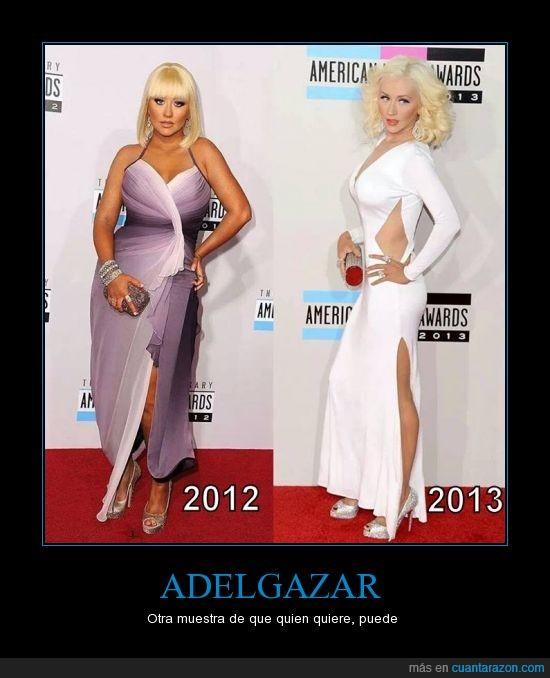 Adelgazar,Christina Aguilera,perder,peso,yisuscraist