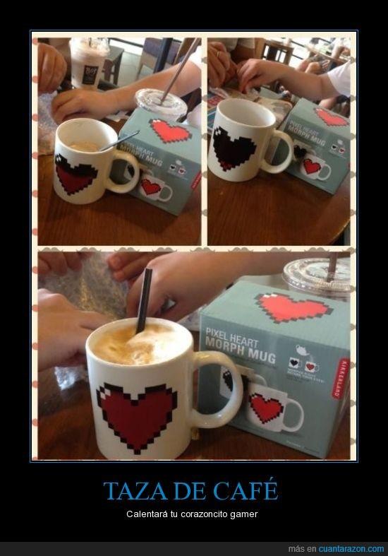 cafe,corazon,gamer,taza