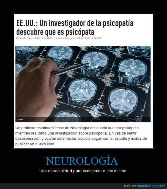 neurologia,profesor,psicopata,psicopatia