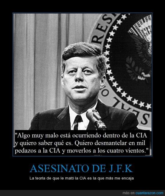 asesinato,CIA,crimen,inmunes,JFK,Jonh F. Kennedy,Teoría de la CIA