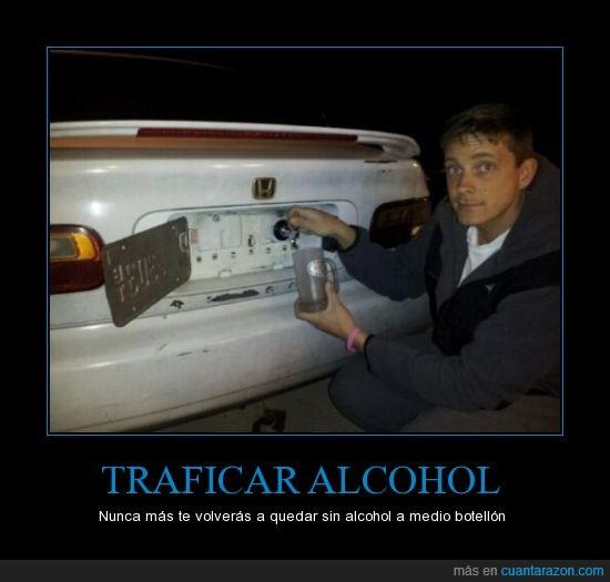 alcohol,apartar,coche,matricula,traficar
