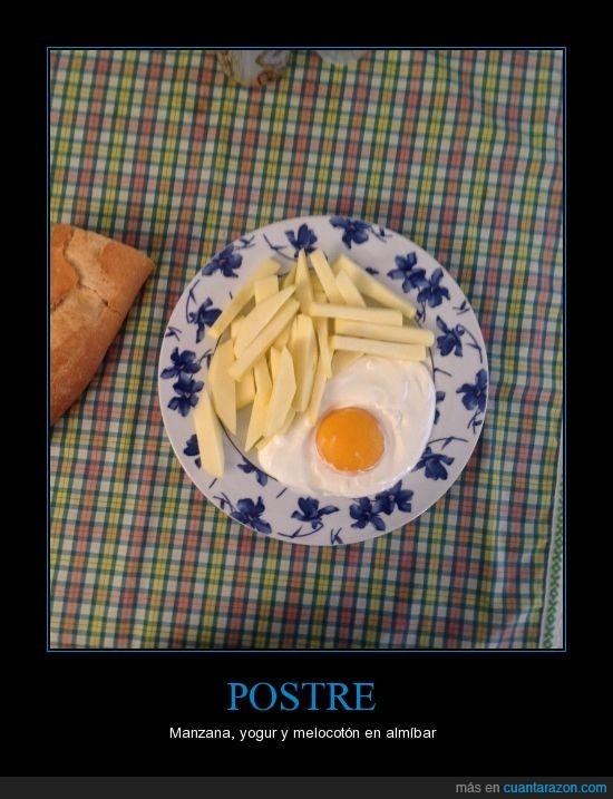Comida,huevo frito,mindtrap,postre