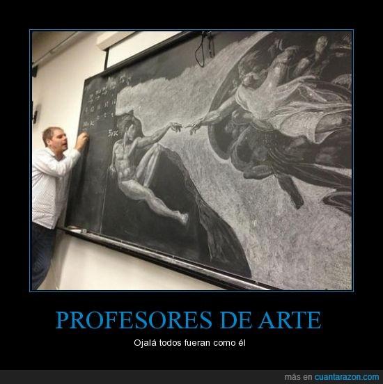 arte,clase,creacion,pizarra,profesor,tiza