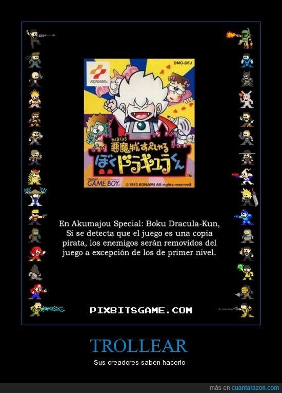 akumajou special_boku dracula-kun,copia,enemigo,excepcion,juegos,pirata
