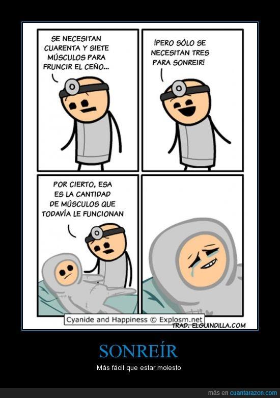 accidente,doctor,enfermo,sonreir