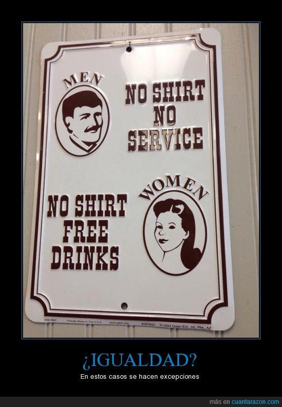 bebidas,camiseta,cartel,gratis,hombre,mujer,servicio,vintage