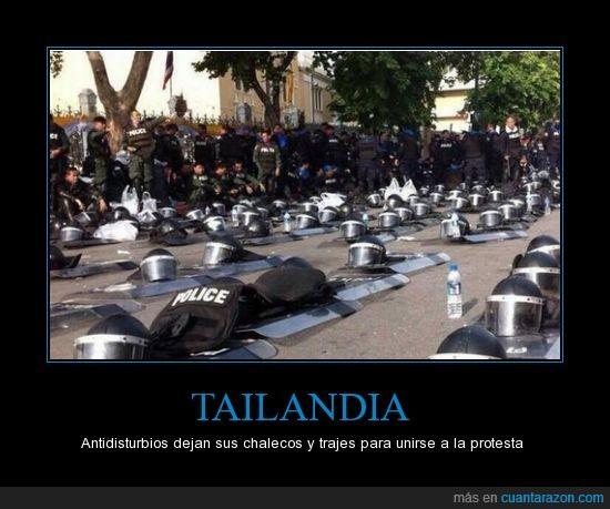 casco,chaleco,escudo,gobierno,manifestante,policia,tailandia