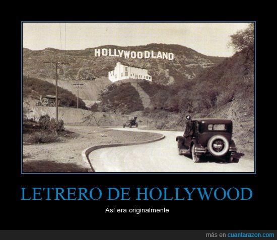 antes,Hollywood,Hollywoodland,se cambio el nombre,viva Perón