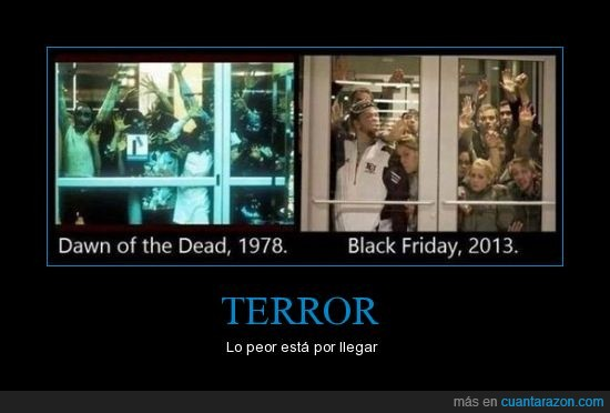 black friday,centro comercial,dawn of the dead,puerta,zombies