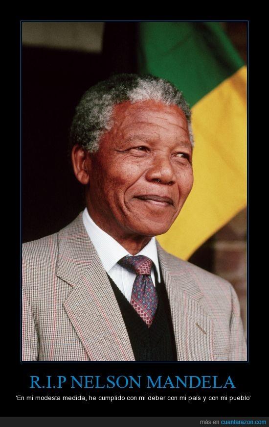 África,Apartheid,DEP,gracias por tu legado,nelson mandela,RIP