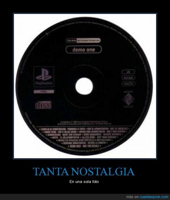 demo,disco negro,jugaba horas con este solo disco,play,playstation,sony