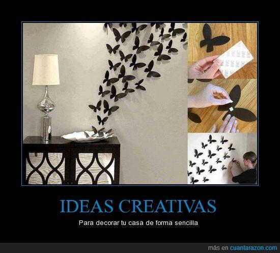 creativas,ideas,mariposas,Sencilla