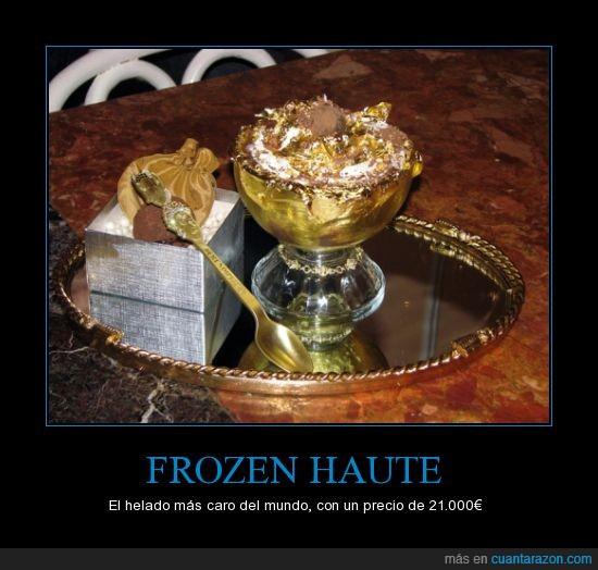 21,caro,chocolate,comestible,de,el,helado,mas,oro,quilates,tiene