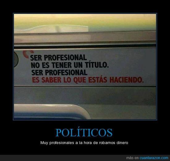 corrupcion,politicos,profesional,titulo