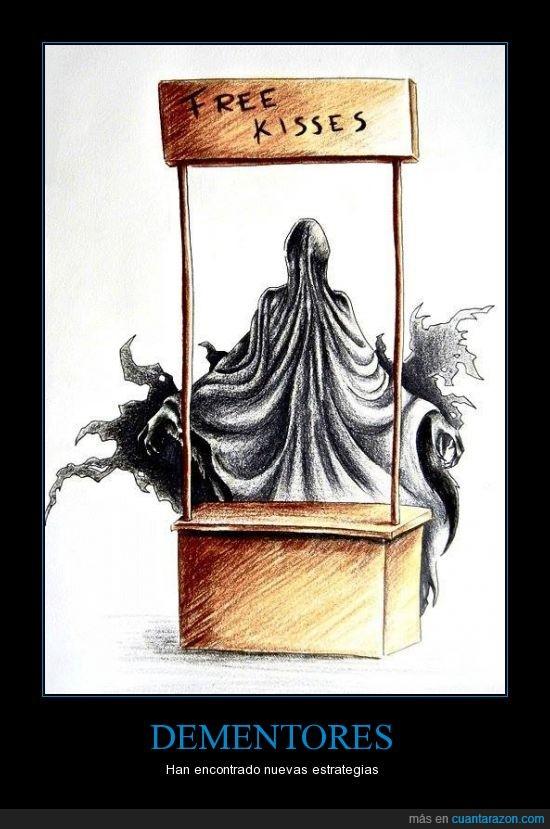 beso,booth,casi cuela,dementores,free,gratis,harry potter,HP