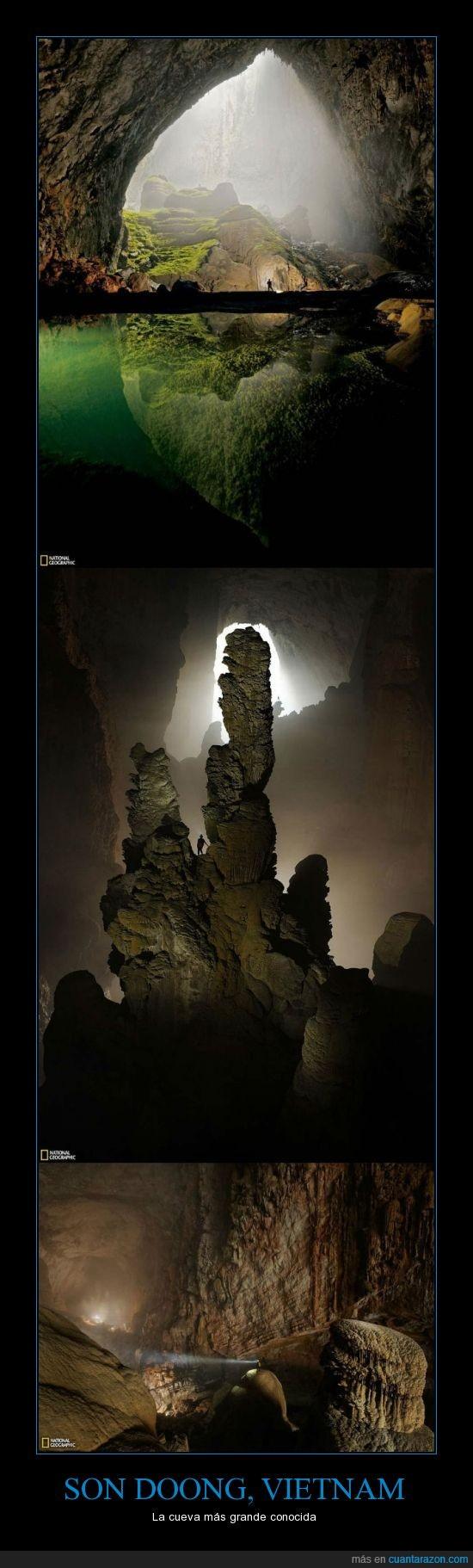 cueva,es la mas grande de todas,natural,vietnam