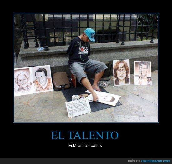 arte,callejero,dibujar,lennon,monedas,pies,retrato,talento