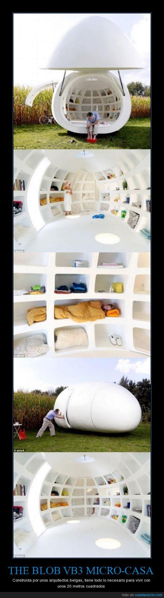 belga,blob,casa,micro,pequeña,proyecto