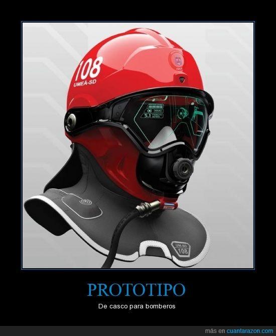 bombero,futuro,Prototipo,salvar vidas,ver atravez del humo