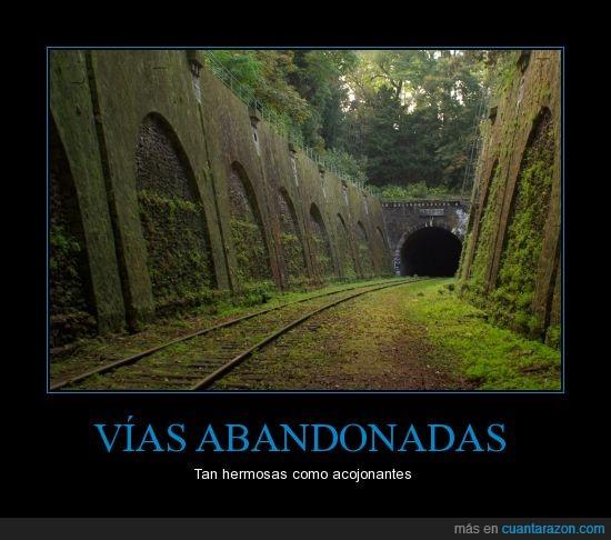 abandonar,la verdad me daría miedo,París,tren,túnel