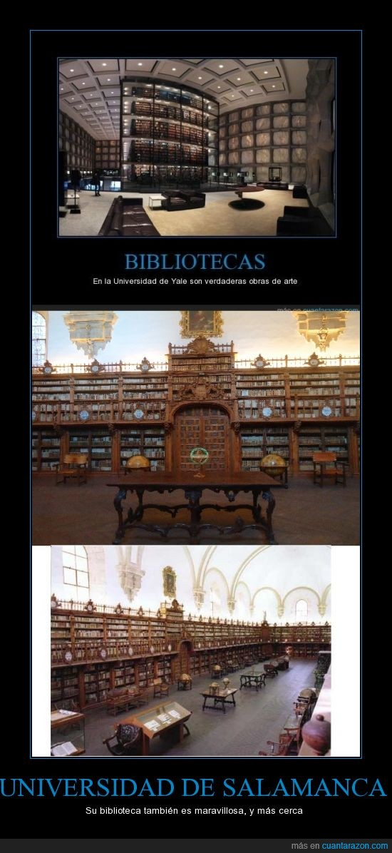 biblio,biblioteca,Quon natura non dat,respuesta,salamanca,Salmantica non praesta,uni,universidad,yale