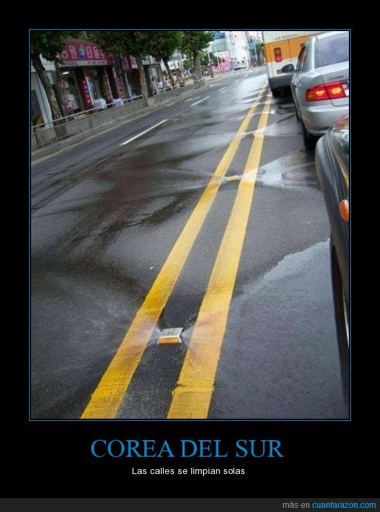 asfalto,calles,carretera,Corea del Sur,limpieza