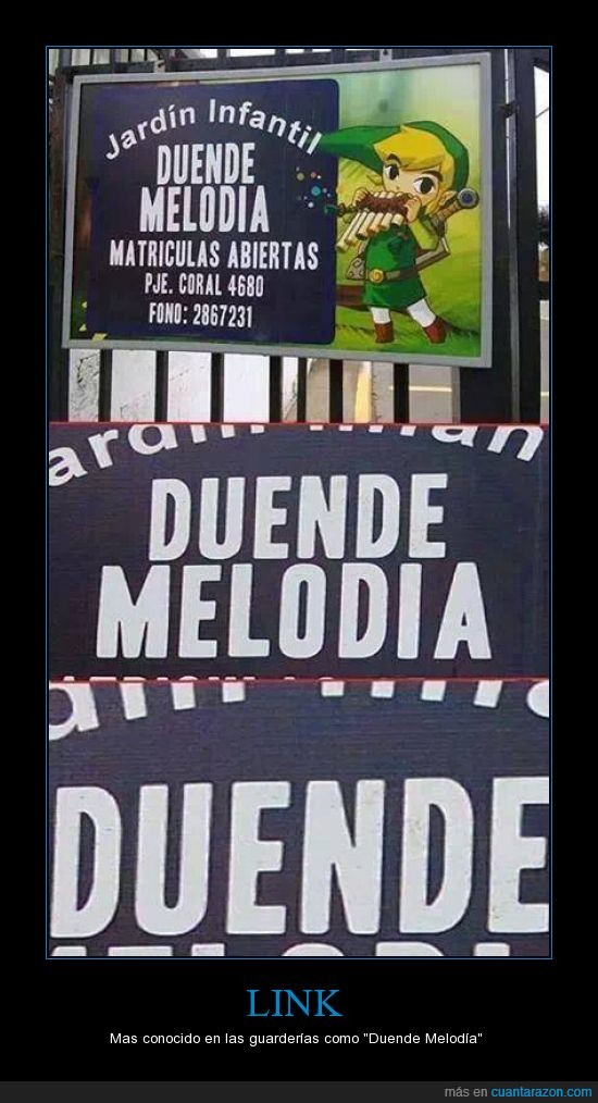 duende,guarderia,link,melodia,wtf