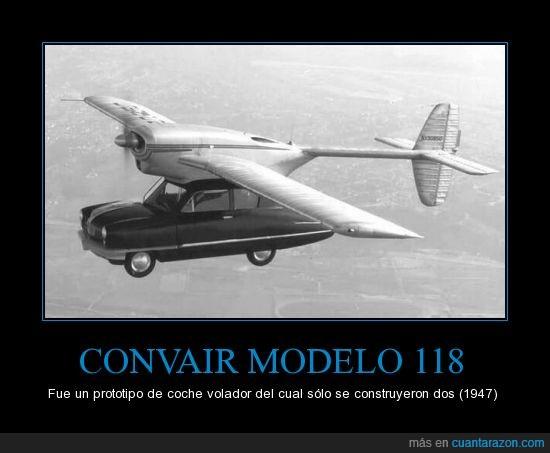 1947,coche volador,covair,modelo 118,unico
