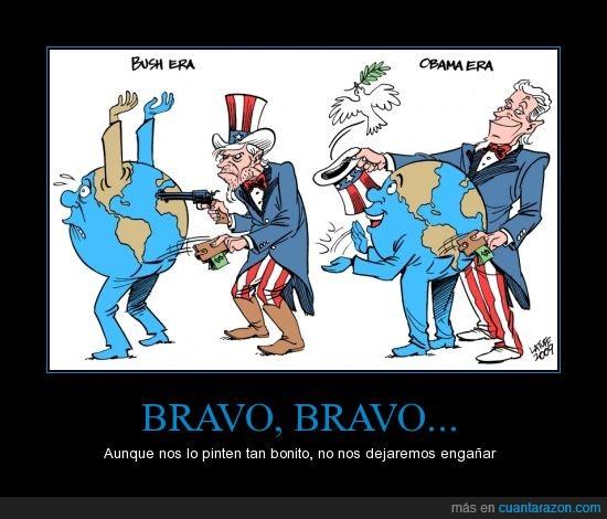 Bush,bush guerra pistola,dinero,nanananananananananannanananannanan BATMAN,obama,paz,robar