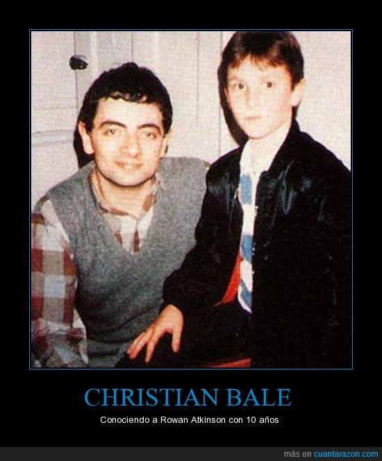 1985,Christian Bale,Mr Bean,Rowan Atkinson,The Nerd