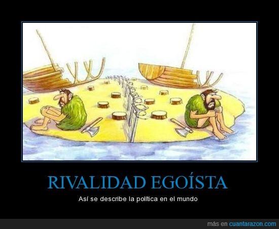 actualidad,barco,cooperación necesaria,egoísmo,política,rajoy dimisión,rivalidad,soluciones