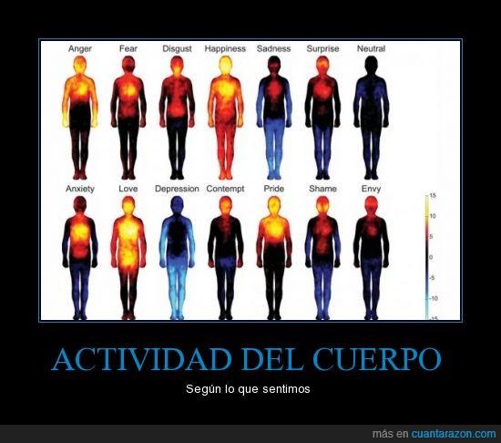 actividad,amor,ansiedad,calor,cuerpo,depresión,desprecio,disgusto,envídia,felicidad,gráfico,imágen,ira,miedo,orgullo,pena,sorpresa,tristeza