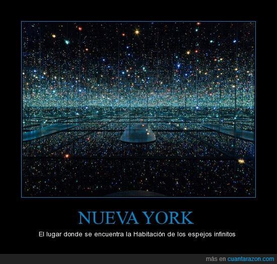 espacio,Espejos,infinito,yayoi kusama