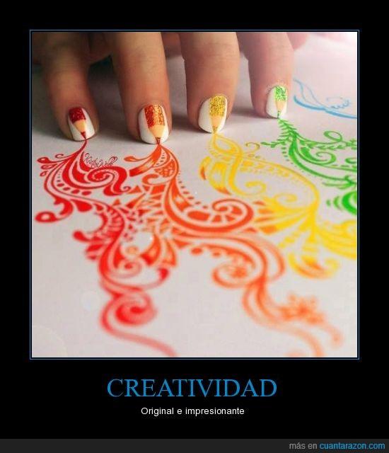 colores,creatividad,original,pintadas,uñas