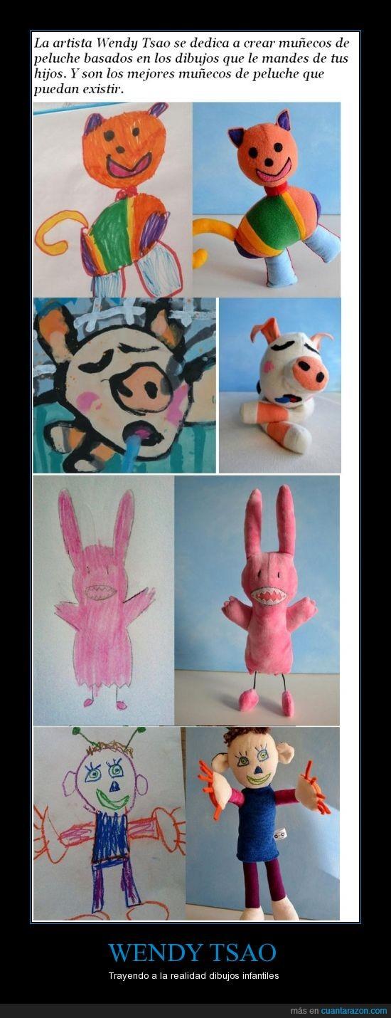 artista,dibujos,muñecos,wendy