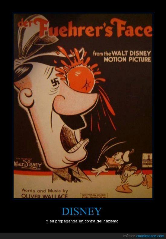 Disney,Dolan,fuhrer,Hitler,nazismo,Pato Donald