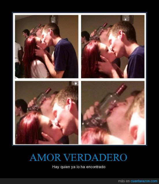 alcohol,amor,besar,beso,borracho,botella,novia,vodka