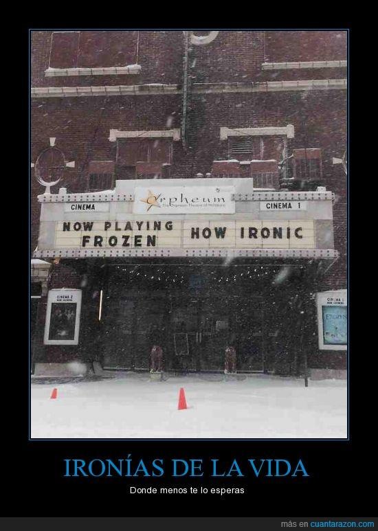 congelado,frozen,helado,hielo,ironia,ironic,ironico,nieve