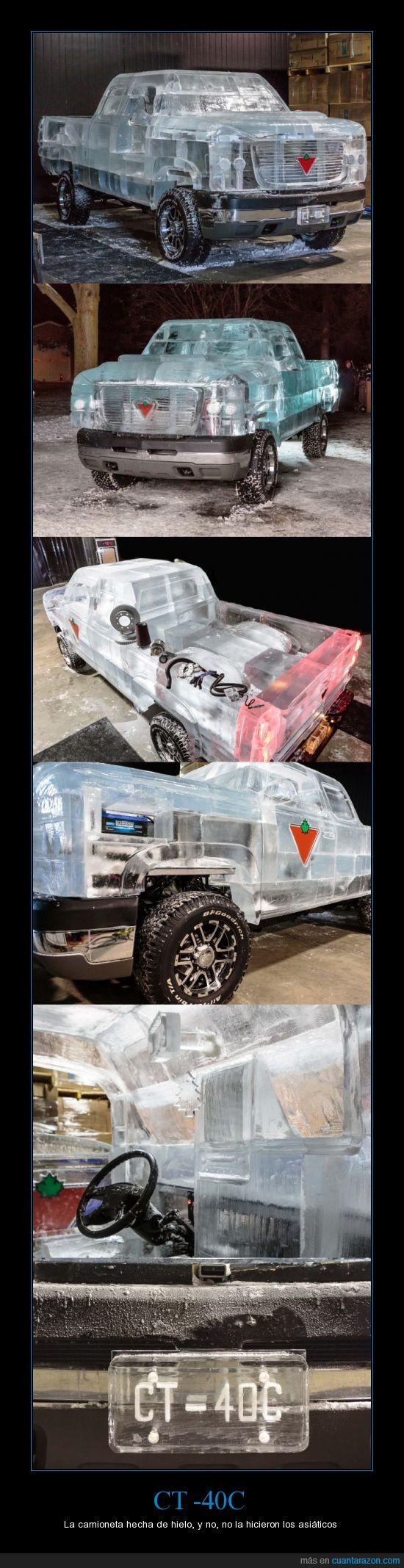 -40°,Bateria,Camioneta,Canadá,Comercial,CT -40C,Frio,Hielo