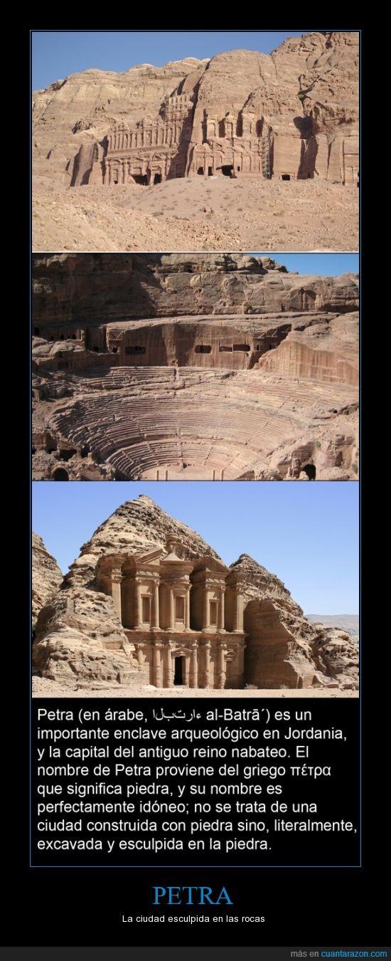 árabe,ciudad,griego,Jordania,petra,piedra,roca