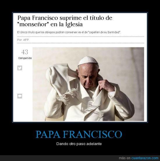 clasismo,eliminacion,francisco,iglesia,monseñor,papa,social