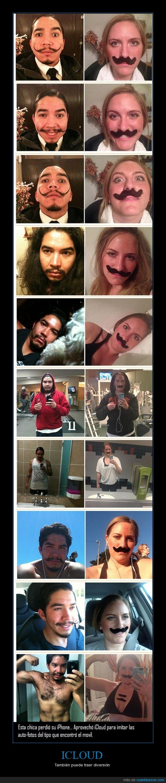 bigote,chica,chico,encontro,icloud,iphone,misma,perdio,pose,subir