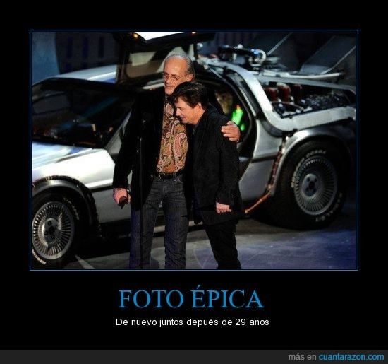 Back to the Future,doc,Marty McFly,Michael J. Fox,que fuerte Doc,Regreso al futuro