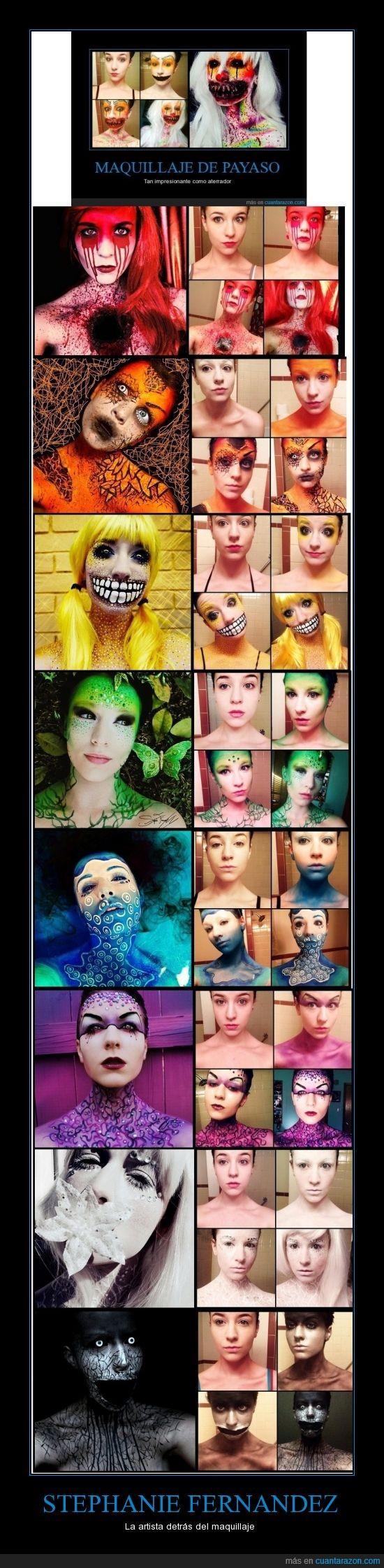 color,efectos especiales,fx,impresionante,maquillaje,talento