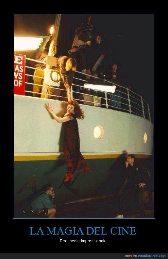 caer,Cine,detras de las camaras,Magia,Titanic