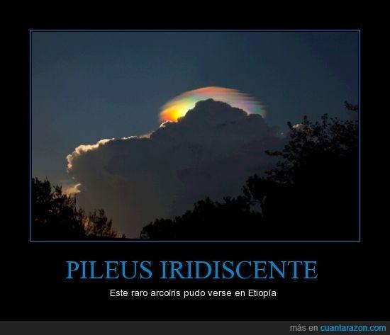 arcoiris,Etiopía,fenómeno,nube