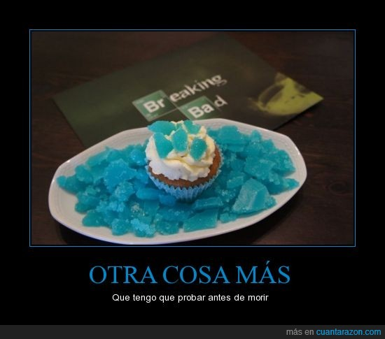 azul,blue,breaking bad,cristal,cupcake,heisenberg,metanfetamina,walter white