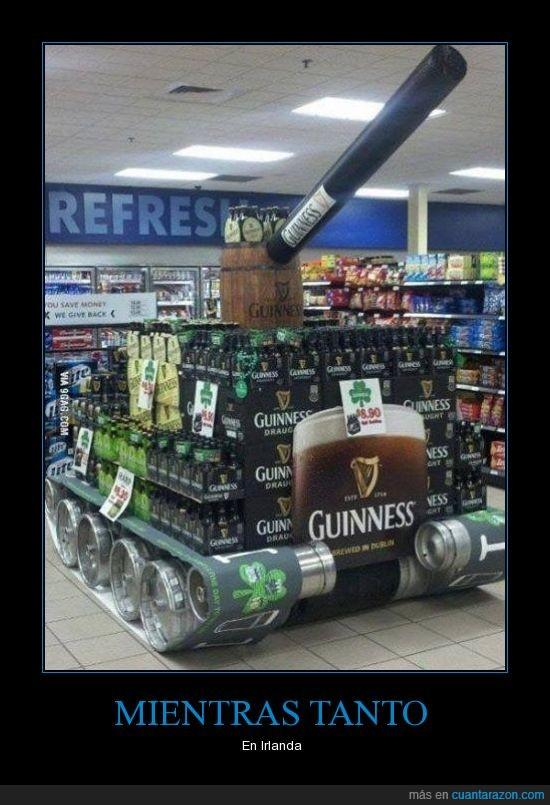 alcohol,cerveza,creatividad,irlanda,tanque